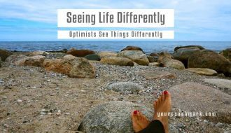 Optimists see life differently